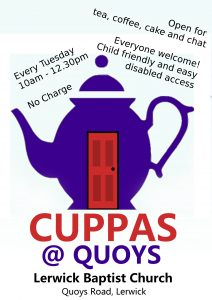 Cuppas @ Quoys